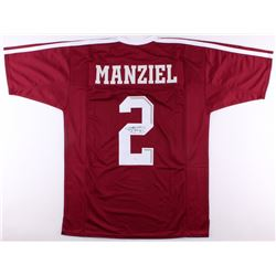 Johnny Manziel Signed Texas AM Aggies Jersey (JSA COA)