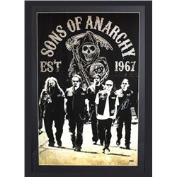 "Tommy Flanagan Signed ""Sons of Anarchy"" 29x42 Custom Framed Poster Display (Radtke COA)"