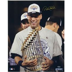"Derek Jeter Signed Yankees ""2009 World Series Champions"" 16x20 Photo (Steiner COA)"
