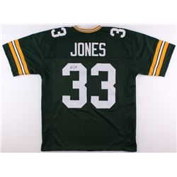 Aaron Jones Signed Packers Jersey (JSA COA)