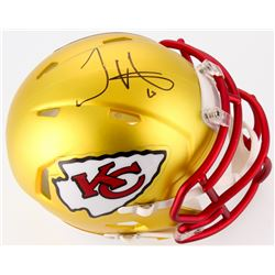 Tyreek Hill Signed Chiefs Blaze Speed Mini-Helmet (TSE COA)