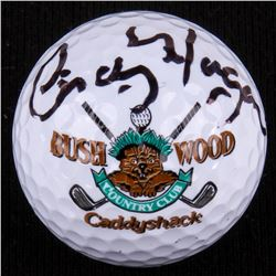 "Cindy Morgan Signed ""Bush Wood Country Club"" Caddyshack Golf Ball (PSA COA)"