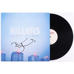 "Brandon Flowers Signed The Killers ""Hot Fuss"" Vinyl Record Album (Beckett COA)"