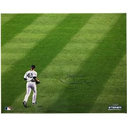 "Mariano Rivera Signed Yankees 16x20 Photo Inscribed ""Good Luck"" (Steiner COA)"