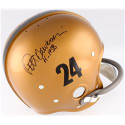 "Pete Dawkins Signed Army Black Knights Full-Size TK Suspension Helmet Inscribed ""H-1958"" (Radtke COA"