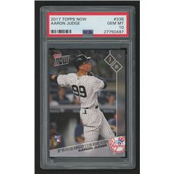 2017 Topps Now #336 Aaron Judge / 8538* (PSA 10)