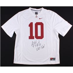 A.J. McCarron Signed Alabama Crimson Tide Authentic Nike Jersey (Radtke Hologram)