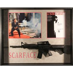 "Al Pacino Signed ""Scarface"" 33x41x4 Custom Framed Shadowbox Display (Beckett COA)"