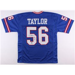 "Lawrence Taylor Signed Giants Jersey Inscribed ""H.O.F. 99"" (Radtke Hologram)"