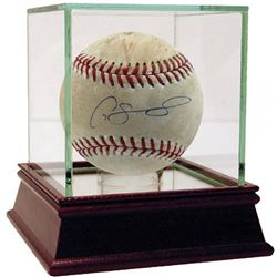 Gary Sanchez Signed 2017 Game-Used Baseball (Steiner COA  MLB)