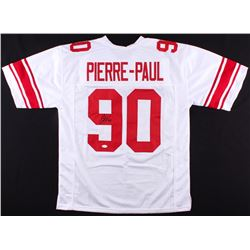 Jason Pierre-Paul Signed Giants Jersey (JSA COA)