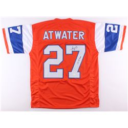 "Steve Atwater Signed Broncos Throwback Jersey Inscribed ""2x SB Champ"" (JSA COA)"
