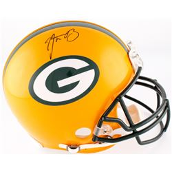 Aaron Rodgers Signed Packers Full-Size Authentic On-Field Helmet (Radtke COA  Fanatics Hologram)