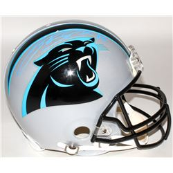 Steve Smith Sr. Signed Panthers Full-Size Authentic On-Field Helmet (Radtke COA)