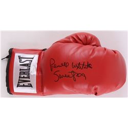"Pernell Whitaker Signed Everlast Boxing Glove Inscribed ""Sweetpea""  (JSA COA)"