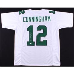 Randall Cunningham Signed Eagles Throwback Jersey (JSA COA)