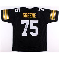 Joe Greene Signed Steelers Jersey Inscribed  HOF 87  (Radtke COA)