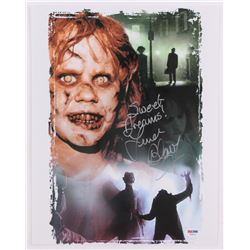 "Linda Blair Signed The Exorcist 11x14 Photo Inscribed ""Sweet Dreams!"" (PSA COA)"