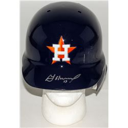 Jose Altuve Signed Astros Full-Size Batting Helmet (Beckett COA)