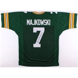 "Don Majkowski Signed Packers Jersey Inscribed ""Majik Man"" (JSA COA)"