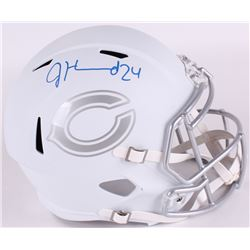 Jordan Howard Signed Bears Full-Size White ICE Speed Helmet (Radtke Hologram)