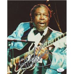 B.B. King Signed 8x10 Photo (JSA COA)