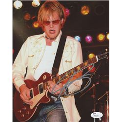 Joe Bonamassa Signed 8x10 Photo (JSA COA)