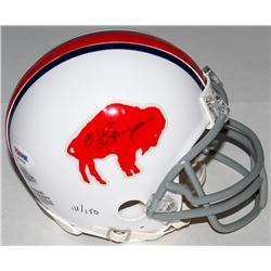 O.J. Simpson Signed Bills LE Throwback Mini Helmet Inscribed (PSA COA  Simpson Hologram)
