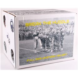 """Break The Huddle"" Mystery Box - Autographed Football Full-Size Helmet Edition"