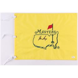 Gary Player Signed Masters Tournament Golf Pin Flag (JSA LOA)