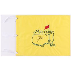 Jack Nicklaus Signed Masters Tournament Golf Pin Flag (PSA LOA)