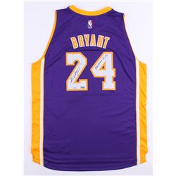 """Kobe Bryant Signed LE Lakers Authentic Adidas Jersey Inscribed """"33643 PTS"""" (Panini COA)"""