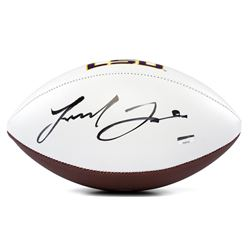Leonard Fournette Signed LSU Tigers Logo Football (Panini COA)