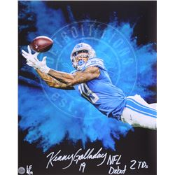 "Kenny Golladay Signed LE Lions 16x20 Photo Inscribed ""NFL Debut 2 TDs"" (Golladay Hologram)"