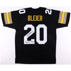 "Rocky Bleier Signed Steelers Jersey Inscribed ""Play Like A Champion"" (JSA COA)"