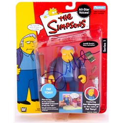 "Joe Mantegna Signed ""The Simpsons"" Series 1 Action Figure (PSA COA)"
