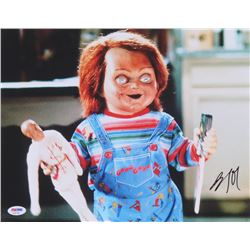 "Brad Dourif Signed ""Child's Play"" 11x14 Photo (PSA COA)"