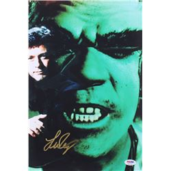 "Lou Ferrigno Signed ""The Incredible Hulk"" 10x14.75 Photo (PSA COA)"