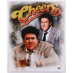 """George Wendt Signed """"Cheers"""" 16x20 Photo Inscribed """"Norm"""" (MAB Hologram)"""