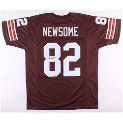 "Ozzie Newsome Signed Browns Jersey Inscribed ""HOF 99"" (JSA COA)"