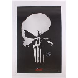 "Jon Bernthal Signed 24"" x 36"" Poster Inscribed ""The Punisher"" (Radtke COA)"
