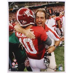 A.J. McCarron Signed Alabama Crimson Tide 16x20 Photo (Radtke COA)