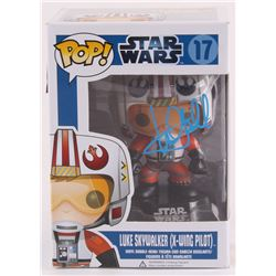 "Mark Hamill Signed ""Luke Skywalker X-Wing Pilot"" Star Wars Funko Pop! Vinyl Figure (Radtke COA)"
