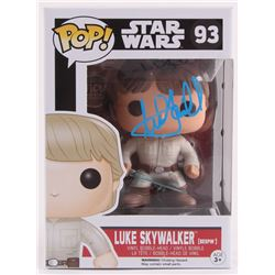 "Mark Hamill Signed ""Luke Skywalker"" Star Wars Funko Pop Vinyl Figure (Radtke Hologram)"