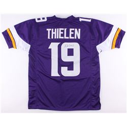 Adam Thielen Signed Vikings Jersey (TSE Hologram)