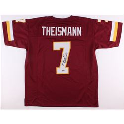 "Joe Theismann Signed Redskins Jersey Inscribed ""SB XVII Champs"" (Radtke COA)"