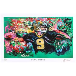 "Drew Brees Saints 11x17 ""Cool Brees"" Signed Winford Limited Edition Lithograph #97/99 (Winford COA)"