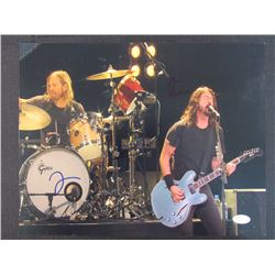 Dave Grohl and Taylor Hawkins Signed 11x14 Photo (JSA Hologram)