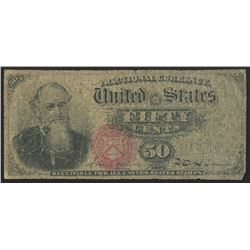 1863 United States 50¢ Fifty Cents Fractional Bank Note