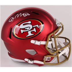 Joe Montana Signed 49ers Full-Size Blaze Speed Helmet (JSA COA)